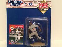 1995 Raul Mondesi starting lineup Baseball figure card toy LA Dodgers MLB