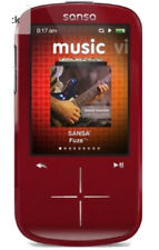 SanDisk Sansa Fuze+ 4GB MP3 Player w/ MicroSDHC Card Slot (Red) - New