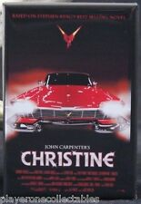 "Christine Movie Poster 2"" X 3"" Fridge / Locker Magnet. Stephen King Classic!"