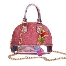 Kids Girls Sequins Purse Wallet Tassel Hand Bags Cute Shoulder Bag Coin Purse