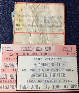 Angel City 2 Concert Ticket Stub Lot 82-85