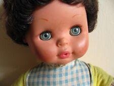 Bambola bambolotto Migliorati con vestito e corpo morbido vintage anni '60 '70