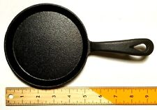 Cast Iron Skillet Frying Pan Round 5 Inch Diameter