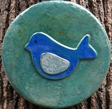 Bird 8, plaque, stepping stone,  plastic mold, concrete mold, cement, plaster