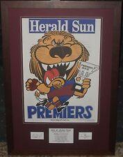Brisbane 2002 Weg Tribute *Signed*