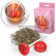 SWEET TEA INFUSER CUTE LOLLIPOP CANDY LOOSE LEAF LEAVES MUG STEEPER CUP STRAINER