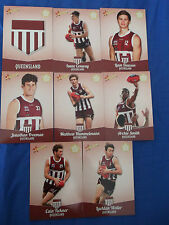 2013 SELECT FUTURE FORCE CARDS U/18 CHAMPIONSHIPS QUEENSLAND SET (8)
