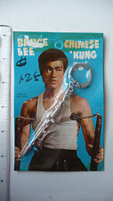 RARE - 1970s Bruce Lee Keychain, Semi-Halberd - SEALED