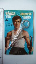 RARE - 1970s Bruce Lee Keychain, Semi-Halberd - SEALED