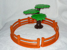 Playmobil 123 Zoo Tree and Fence