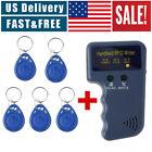 125KHz Handheld RFID ID Card Copier Key Reader Writer Duplicator+5PCS Tags US
