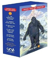 Choose Your Own Adventure 6 Book Boxed Set #1 : The Abominable Snowman,...