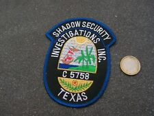 PATCH POLICE ECUSSON COLLECTION  USA   police texas