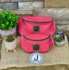 Pommel Bag Leather Handmade, Saddle Sak,Pommel Pocket, Pink SM, Trail Bag