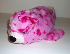 "Petting Zoo Pink Spotted Seal Sea Lion Plush Stuffed Animal Toy 16"""