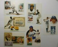 Vintage USPS Baseball Player Postcards Fea. R. Clemento B. Ruth  L. Gehrig New
