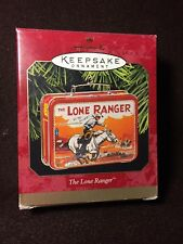 1997 The LONE RANGER Lunch Box  HALLMARK ORNAMENT Free Shipping