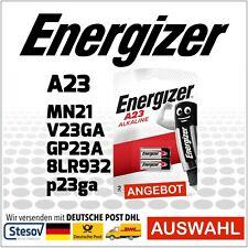 2er Pack Alkaline Batterie Energizer 23A 12V MN21 V23GA GP23A p23GA 8LR932 A23