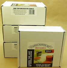 Candle Making Kit. Votive and wax tart melt starter kit
