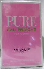 KAREN LOW PURE EAU FRAICHE PARIS 3.4 OZ / 100 ML EAU DE PARFUME NIB WOMEN SPRAY