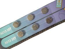 6pcs AG13 LR44 SR44 A76 L1154 357 157 1.5V Cell Button Battery