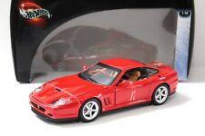 1:18 Hot Wheels Ferrari 575 MM red NEW bei PREMIUM-MODELCARS