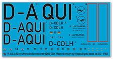 Peddinghaus 2645 1/48 ju 52/3m lufthansa tradionsmaschine D-aquí/D-cdlh