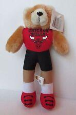 """CHICAGO BULLS TEDDY BEAR 9"""" PLUSH DOLL W/ TAG, Good Stuff"""