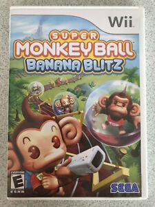 Super Monkey Ball: Banana Blitz (Sega, Wii, 2006) CIB
