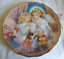 Hearing My Prayers Plate My Little Guardian Coa/Box 8 1/4""