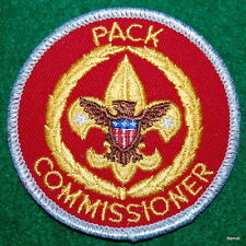 BOY SCOUT ADULT POSITION PATCH - PACK COMMISSIONER - SCARCE - LIMITED ISSUE
