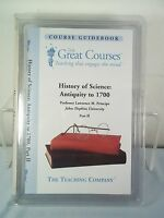 Great Courses History of Science Antiquity to 1700-Principe CD Set- Part II/ 2