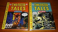 EC Archives Two Fisted Tales Volume 1 and 3 Dark Horse Comics hardcovers SEALED!