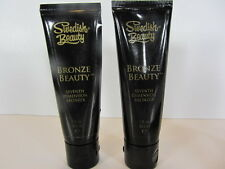2 PACK BRONZE BEAUTY 1 OZ. TUBE SAMPLE of TANNING LOTION by SWEDISH BEAUTY