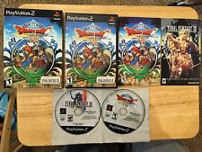 Dragon Quest VIII: Journey of the Cursed King PlayStation 2 PS2 Complete  Game 8