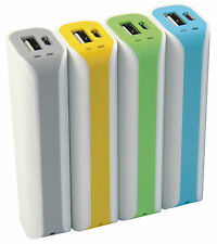 Batteria Esterna Portatile Power Bank Mediacom 2200 mAh M-PB22C BIANCOGIALLO