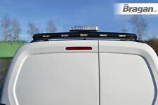 Rear Roof Bar + Beacon + LEDs For Fiat Fiorino Qubo 2007+ Top BLACK Steel Van