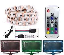 RGB LED Strip USB Colour Changing Lighting 50cm/1M/2M/3M TV BACK 5050/2835 SMD