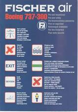 Safety Card - Fischer Air B737-300