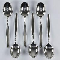 WMF Rom 6x Speise Tafel Suppen Löffel Besteck Serie 90er Silber Auflage TOP