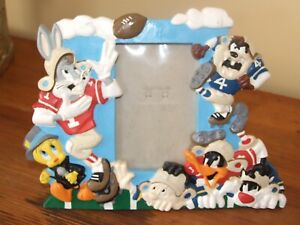 Warner Brothers Football Photo Frame Looney Tunes