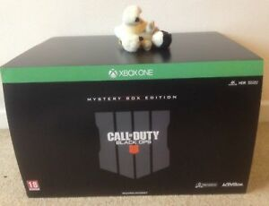 CALL OF DUTY BLACK OPS 4 MYSTERY WEAPONS BOX pro collectors EDITION XBOX ONE / X