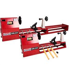 Variable Speed Wood Lathe 240v Woodturning With Chisel Set