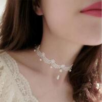 Gotisch Jahrgang Handgefertigt Halskette Schnürsenkel Hohl Perlen Anhänger