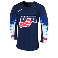 Men's 2019 Team USA Hockey IIHF World Junior Championship Blue Replica Jersey