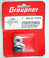 Graupner 1171/3 Propeller Couplage Shaft 3.2 mm modélisme