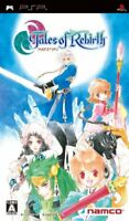 PSP Tales of Rebirth Japan PlayStation Portable F/S