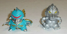 """Bandai Godzilla Chibi Super Deformed 1.5"""" LOT Gigan + Mecha Godzilla"""
