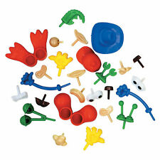 Creativity Street Modeling Dough & Clay Body Parts Accessories