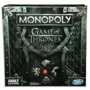 Hasbro Monopoly Game of Thrones GOT Edition Board Game With Music
